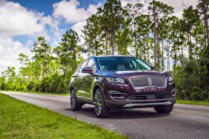 Hintergrundbilder Lincoln Metallisch Violett 2019 Lincoln MKC Black Label auto