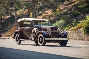 Fotos Lincoln Retro Braun 1932 Model KB Sport Phaeton by Murphy Autos