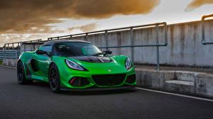 Bilder Lotus Grün 2018-19 Exige Cup 430 automobil