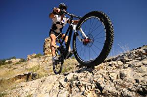 Hintergrundbilder Mann Fahrrad Rad Sport
