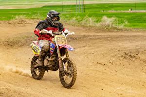 Papel de Parede Desktop Motocross Motociclista Uniforme Lama motociclo