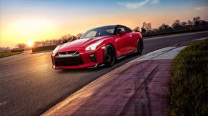 Photo Nissan Red GTR Track Edition 2017 Cars