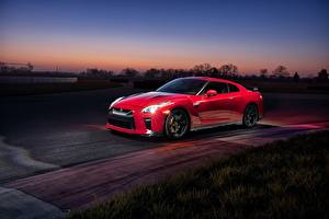 Pictures Nissan Red GTR Track Edition 2017 automobile