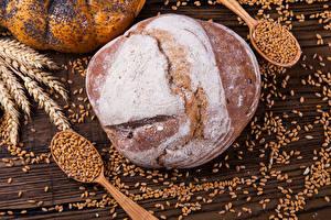 Fondos de Pantalla Repostería Pan Trigo Espiga Cereal Cuchara