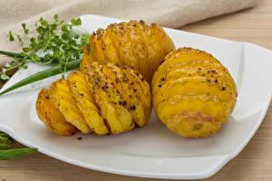 Hintergrundbilder Kartoffel Teller Lebensmittel