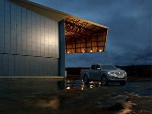 Hintergrundbilder Renault Grau Pick-up 2019 Alaskan Worldwide Autos