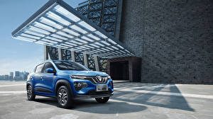 Fotos Renault Hellblau 2019 City K-ZE Autos