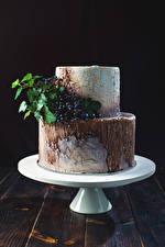 Fonds d'écran Confiseries Gâteau Baie botanique Design