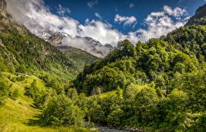 Bilder Schweiz Berg Wald Landschaftsfotografie Natur