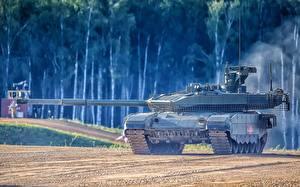 Wallpaper Tank T-90 Russian T-90M