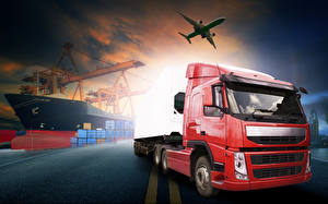 Images Lorry Airplane Ships automobile