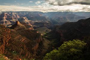 Hintergrundbilder Vereinigte Staaten Grand Canyon Park Park Gebirge Canyon