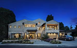 Bakgrunnsbilder Amerika Hus Kveld Herregård Design Garasje Newport Beach byen