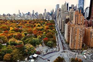 Images USA Houses Park New York City Manhattan Cities