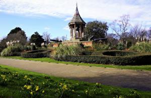 Hintergrundbilder Vereinigtes Königreich Park Frühling Strauch Nottingham Arboretum