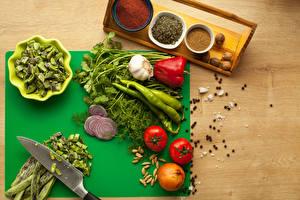 Wallpaper Vegetables Seasoning Tomatoes Pepper Allium sativum Onion Dill Black pepper Food