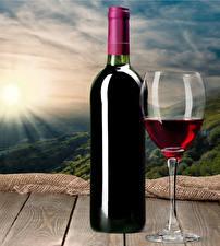 Pictures Wine Boards Bottles Stemware Food