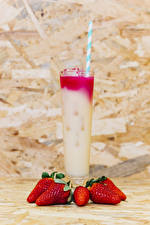 Pictures Mixed drink Strawberry Highball glass Food