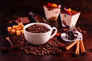 Photo Coffee Cup Grain Food