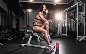 Fonds d'écran Fitness Jambe La  gym Filles