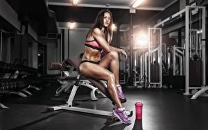Fonds d'écran Fitness Jambe La  gym Sport Filles