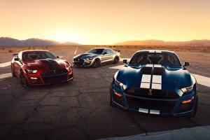 Fotos & Bilder Ford Drei 3 Strips Mustang Shelby GT500 2020 Autos