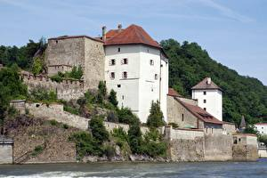 Photo Germany Castles Bavaria Passau Cities