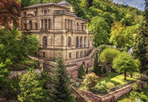 Wallpapers Germany Houses Villa Villa Lobstein Cities pictures images