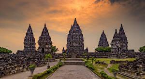 Bilder Indonesien Tempel Prambanan Temple Jogjakarta Städte