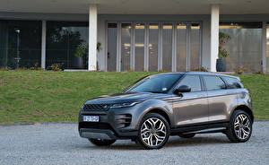 Wallpapers Land Rover Grey Crossover 2019 Evoque D180 SE R-Dynamic Cars pictures images