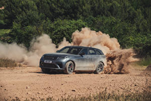 Fotos & Bilder Land Rover Grau Crossover 2019 Velar SVAutobiography Dynamic Edition Worldwide Autos
