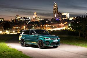 Hintergrundbilder Land Rover Fahrzeugtuning Grün 2019 Sport SVR Springboks by SVO auto