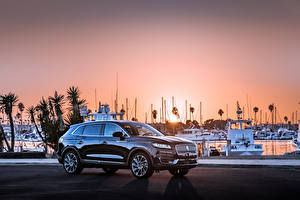 Fotos Lincoln Schwarz Metallisch 2019 Nautilus automobil