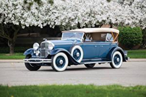 Hintergrundbilder Lincoln Retro Hellblau Metallisch 1931 Model K Dual Cowl Sport Phaeton Autos
