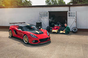 Bilder Lotus Rot Garage 2018-19 Exige Cup 430 Type 49 Autos