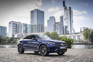 Image Mercedes-Benz Blue Coupe Metallic  Cars