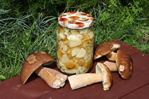Hintergrundbilder Pilze Weckglas