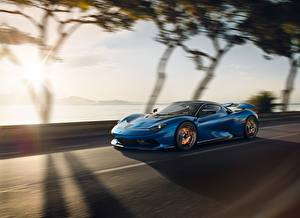 Photo Pininfarina Blue Riding Battista automobile