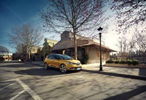 Papel de Parede Desktop Renault Amarelo Metálico 2016 Scenic carro