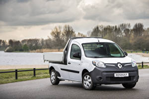Bilder Renault Pick-up Weiß 2019 Kangoo Z.E. Pick-up