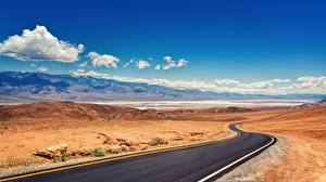 Wallpapers Roads USA Parks California Death Valley National Park