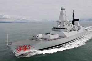 Pictures Ship HMS Dragon Royal Navy Type 45 destroyer