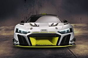 Wallpapers Audi Tuning Front R8 GT2 LMS auto
