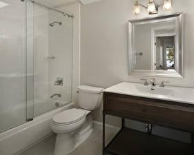 Hintergrundbilder Innenarchitektur Design Klosett Badezimmer Spiegel