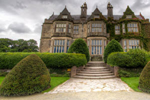 Pictures Ireland Building Mansion Stairway Bush Design Muckross House Cities