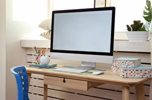 壁纸,,键盘,鼠标,桌子,電腦熒光幕,電腦