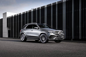 Pictures Mercedes-Benz Silver color 2019 GLE 300 d 4MATIC AMG Line Cars