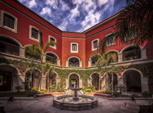Images Mexico Houses Fountains Hotel Rosewood Hotel in San Miguel de Allende Cities