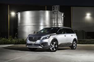 Fotos & Bilder Peugeot Silber Farbe Crossover 2019 5008 Crossway Autos