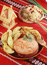 Bilder Wurst Kartoffel Tischdecke